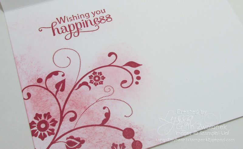 Emboss Resist Wedding Congrats Card Stampin Up