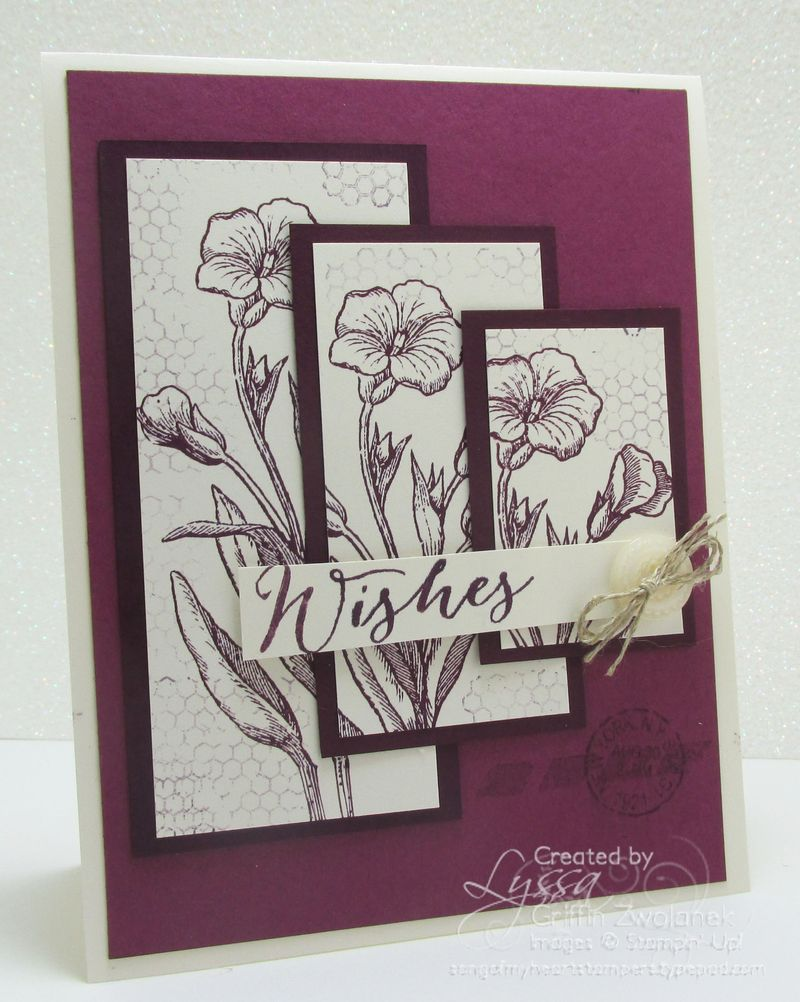 Cheat Sheets Collection 8 Ascending Panels Card Stampin Up