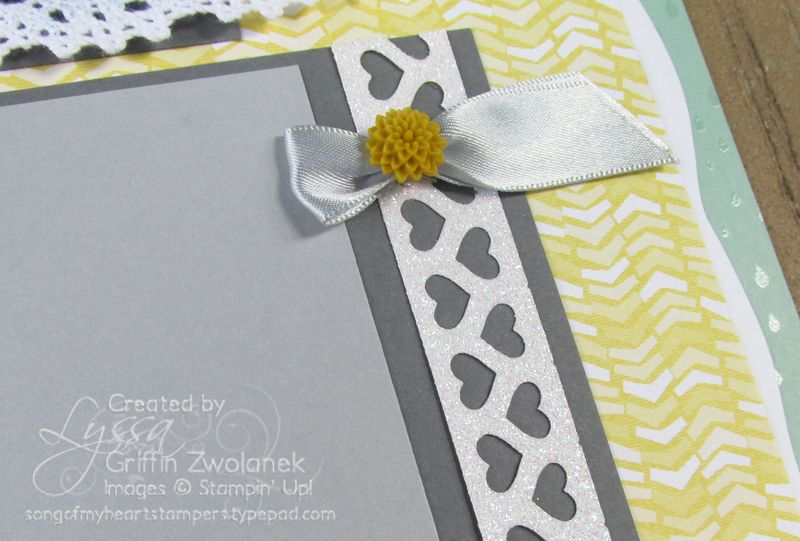 Baby Shower Page Closeup
