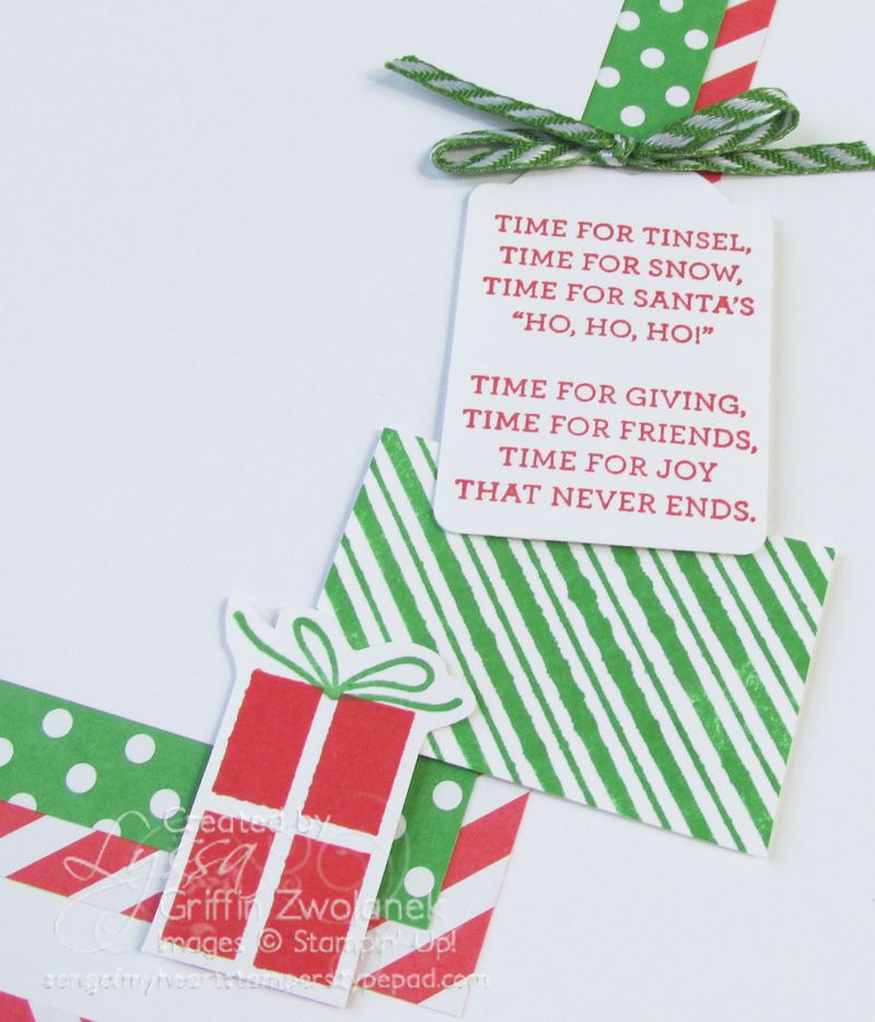 Time for Presents Christmas Details