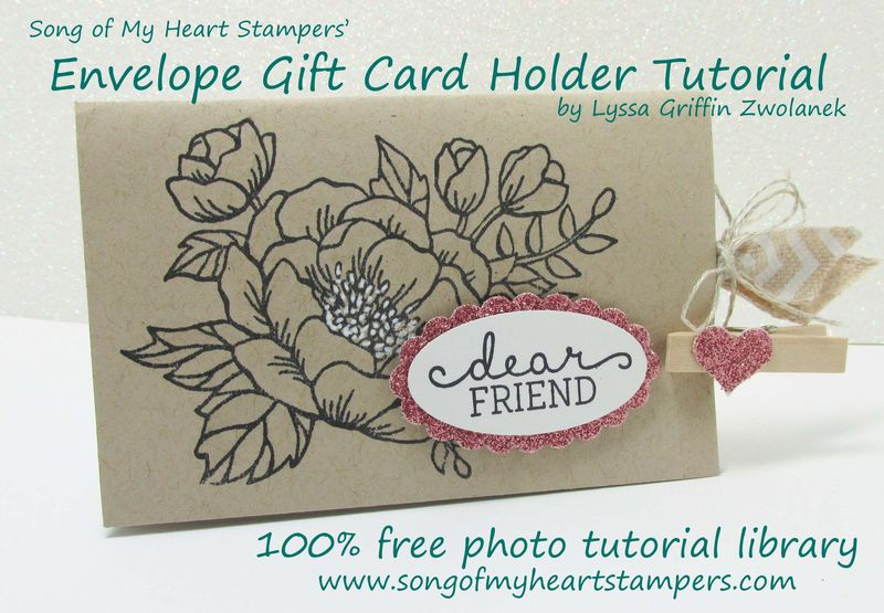 Envelope Gift Card Holder Tutorial