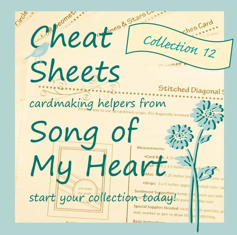 Cheat Sheets Individual Collection 12 Graphic