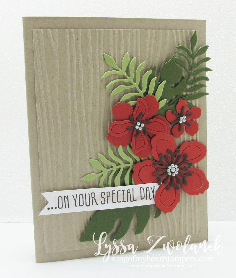 Botanical builder card