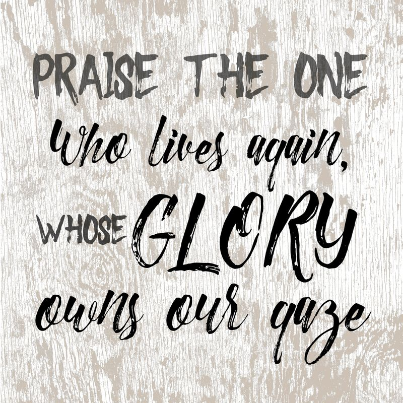 Whose glory owns our gaze-001