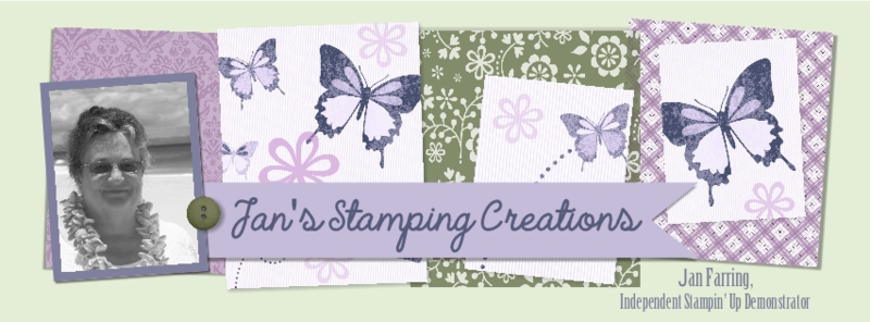 www.songofmyheartstampers blog header design #stampinup Jan Farring