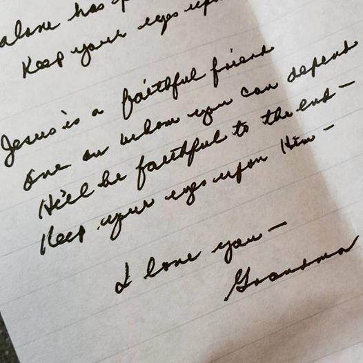 Grandma note