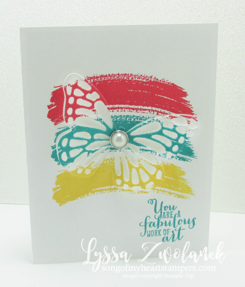 Butterfly swash cards