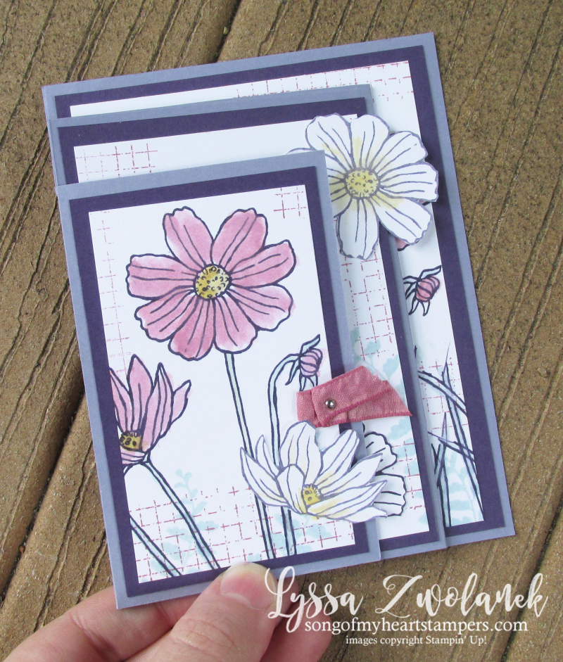 Fourfold Four fold card Stampin Up DIY cardmaking tutorials