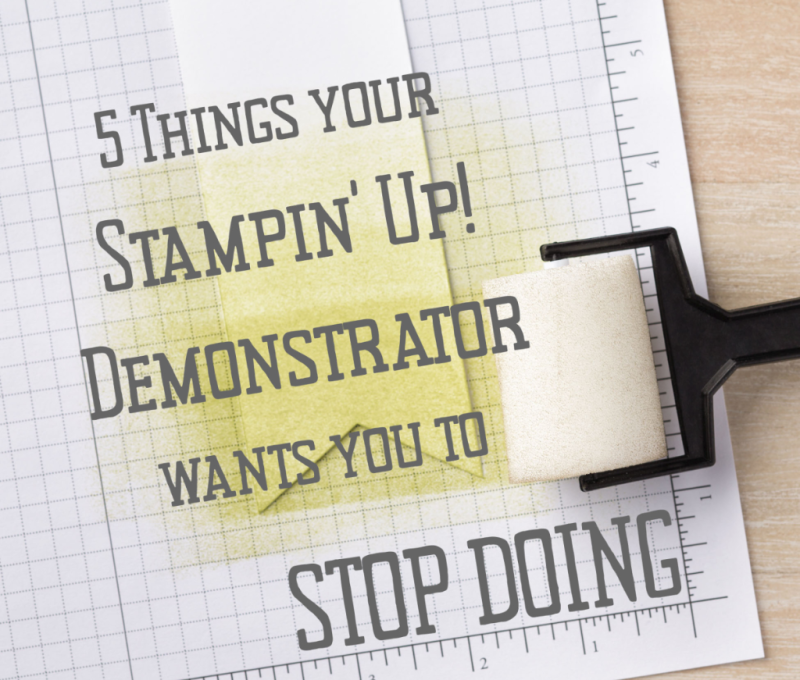 Demonstrator wants you to stop doing