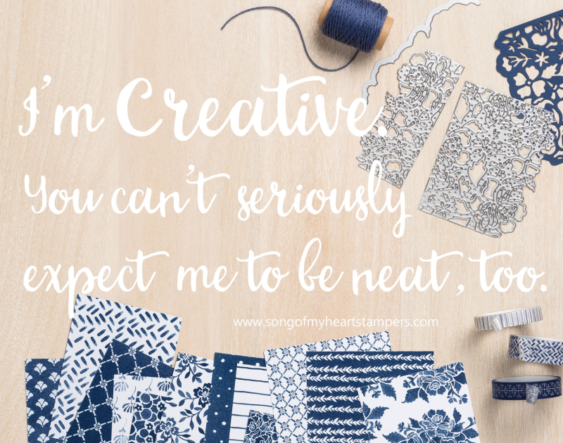Creative serious expect me neat too Song of My Heart Stampers
