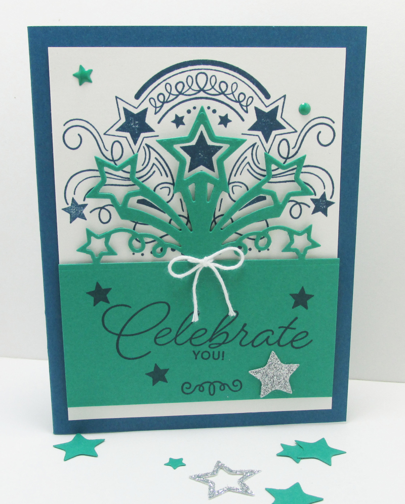 Star Blast Birthday bundle stampin up Lyssa card ideas DIY Big Shot