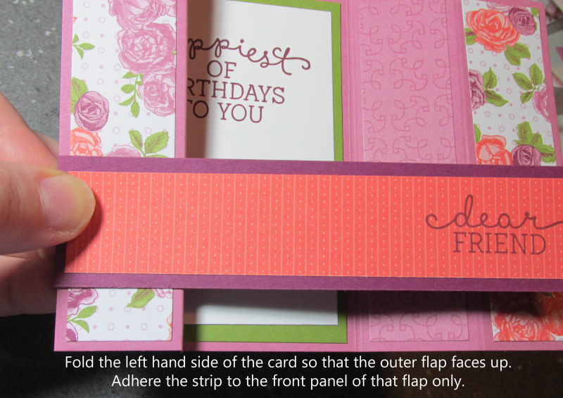 Bridge fold card tutorial free cardmaking easy tutorials stampin up quick Lyssa