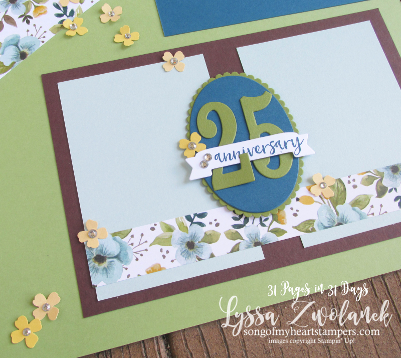 31 days pages album scrapbook anniversary heritage wedding scrapbooking layouts