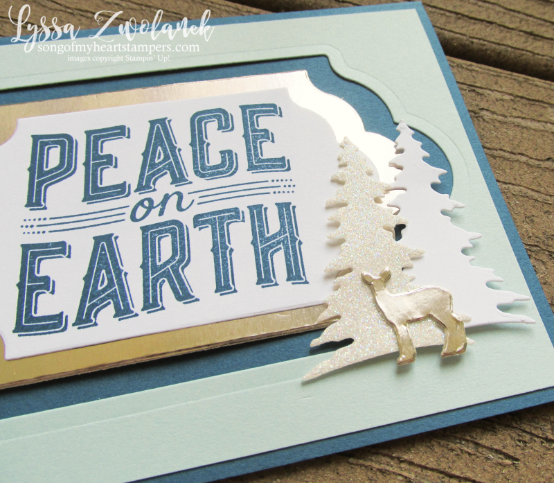 Carols of Christmas bundle stampin up Lyssa holiday DIY cards ornaments deer music