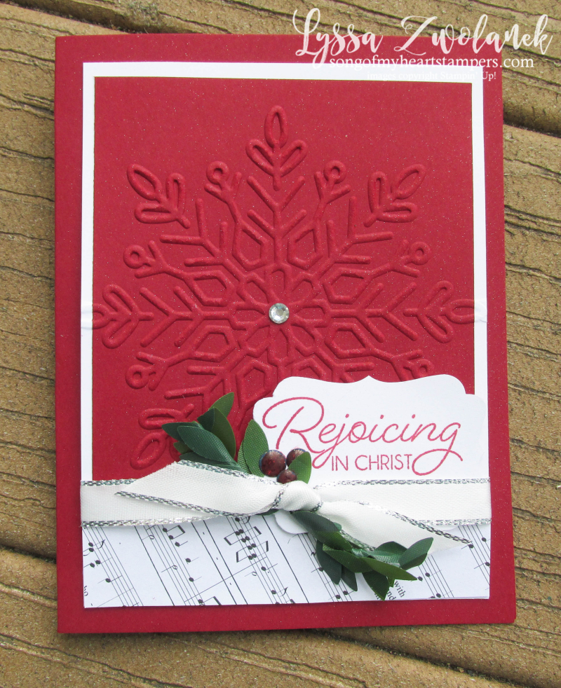 Winter Wonder embossing folder snowflake textured christmas stampin up sizzix big shot