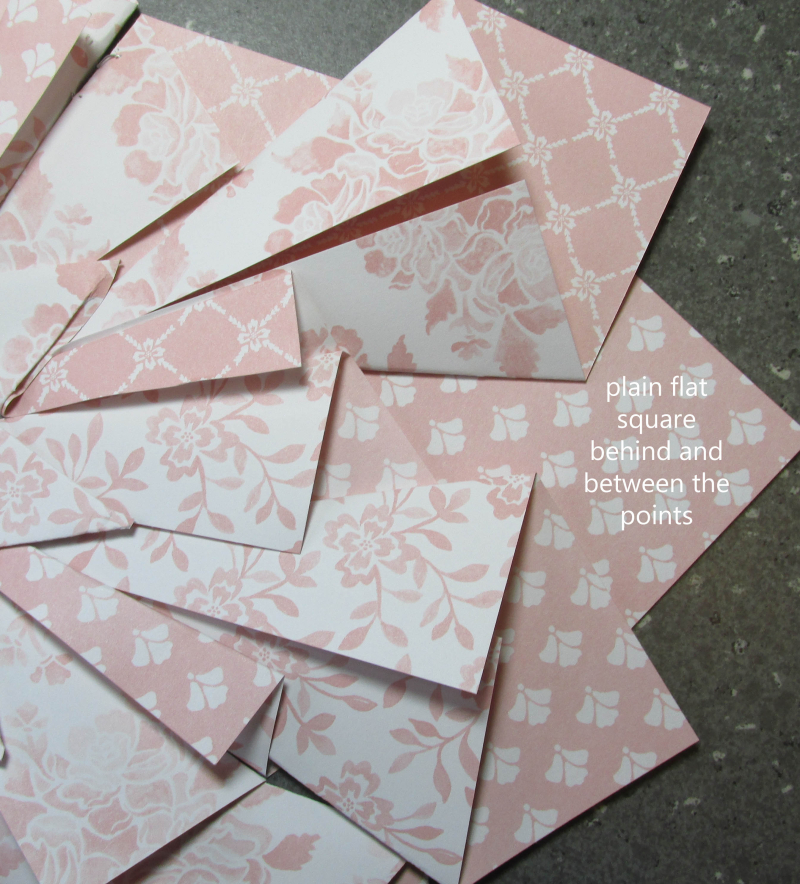 Quilted Paper wreath double tutorial 9