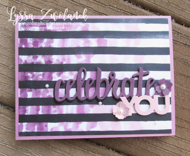Petal Passion black white coloring Stampin Up saleabration thinlets celebrate you alcohol Blends stamps