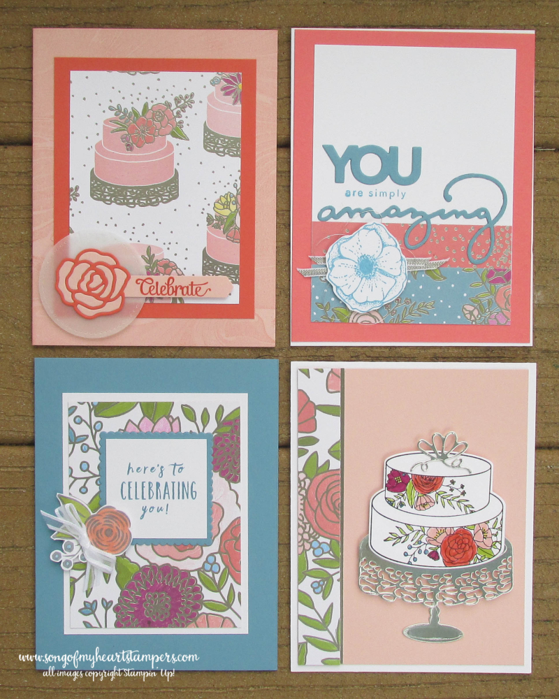 Sweet Soiree stampin up shop now scrapbooking rubber stamping 12x12 paper wedding DIY cardmaking