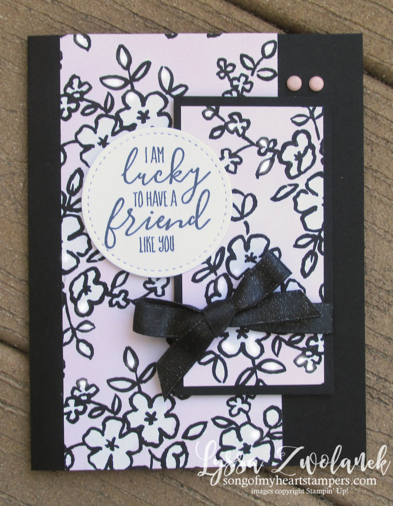 Petal passion black white DSP coloring pages cardmaking DIY adult Stampin Up shop Lyssa Blends alcohol markers