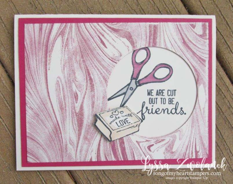 Crafting Forever marbled background technique rubber stamp crafter stamper stampin up cardmaking