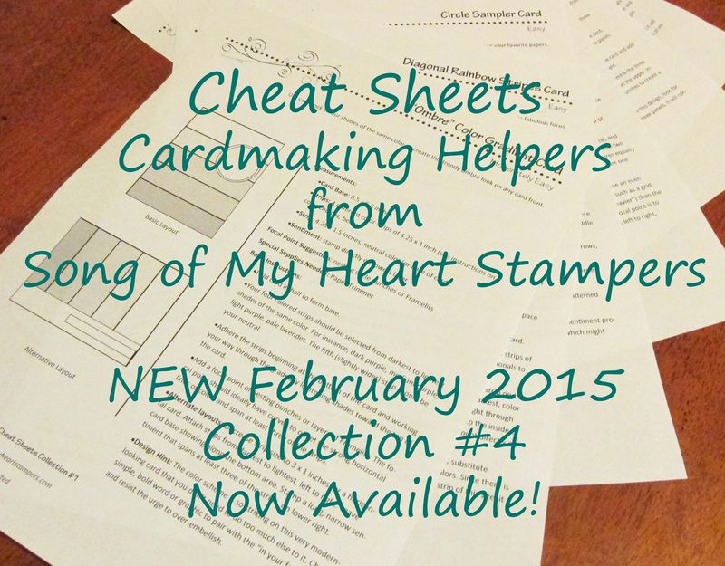 Cheat Sheets Cardmaking Helpers Collection Four
