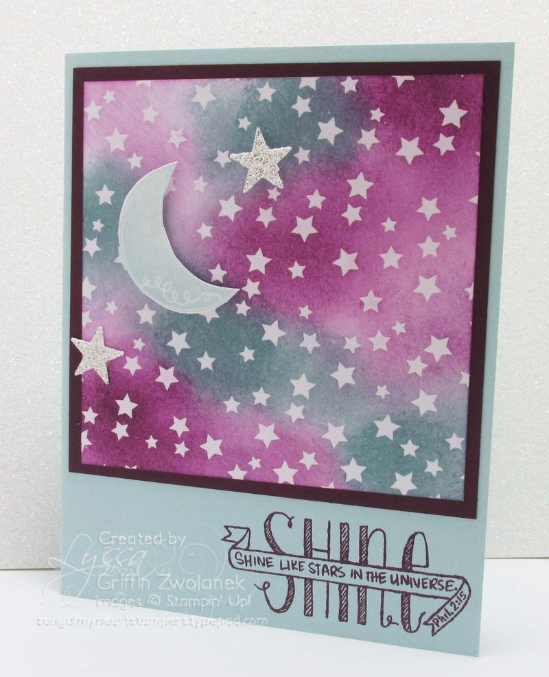 Irresistibly Yours Papers Stars in the Universe Card