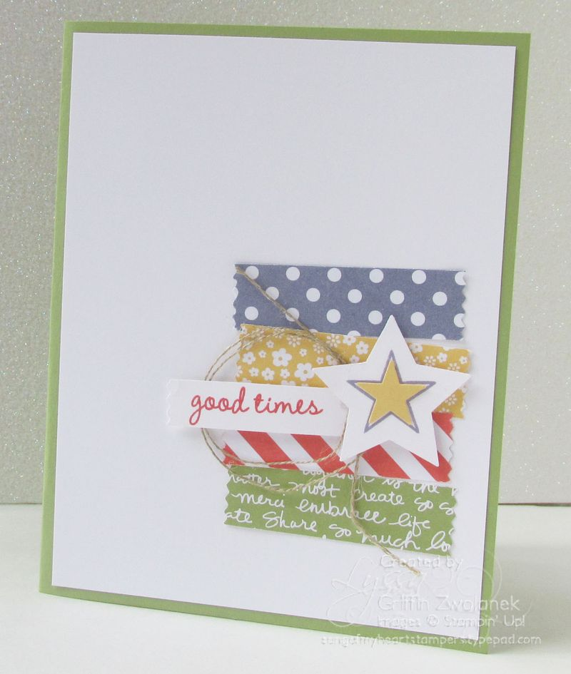 So You Good Times Card Stampin Up