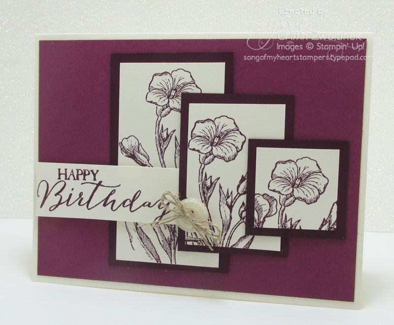 Cheat Sheets Collection 8 Ascending Panels Variation Card Stampin Up