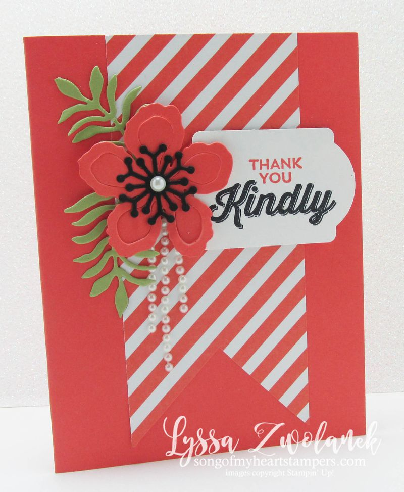 Dripping pearls cards