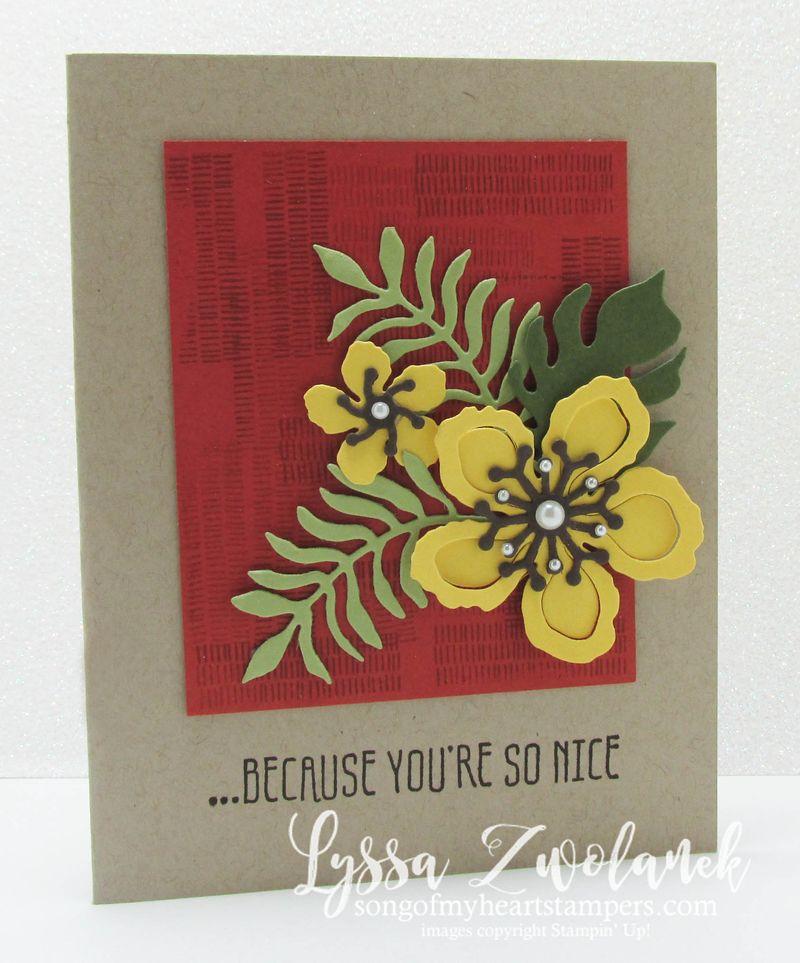 Botanical builder cards