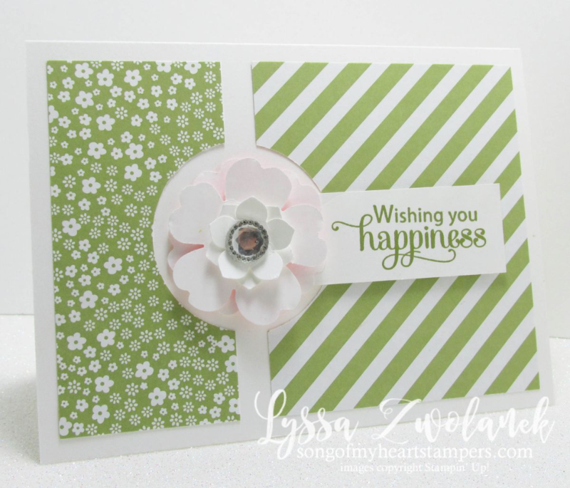 Blessed by God stamp set Stampin Up diagonal strips DIY cardmaking www.songofmyheartstampers.com