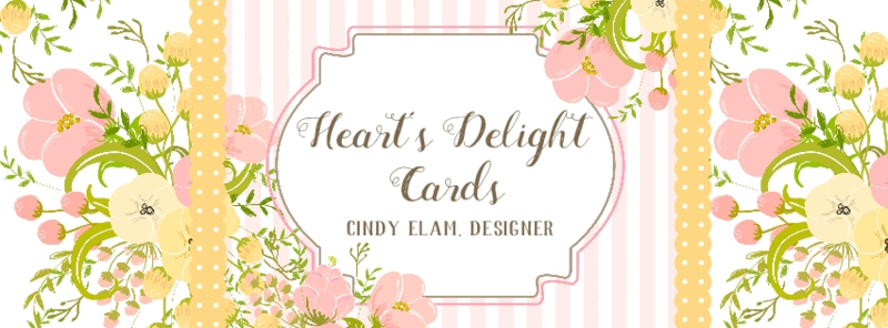 Hearts Delight Cards #stampinup Cindy Elam www.songofmyheartstampers.com