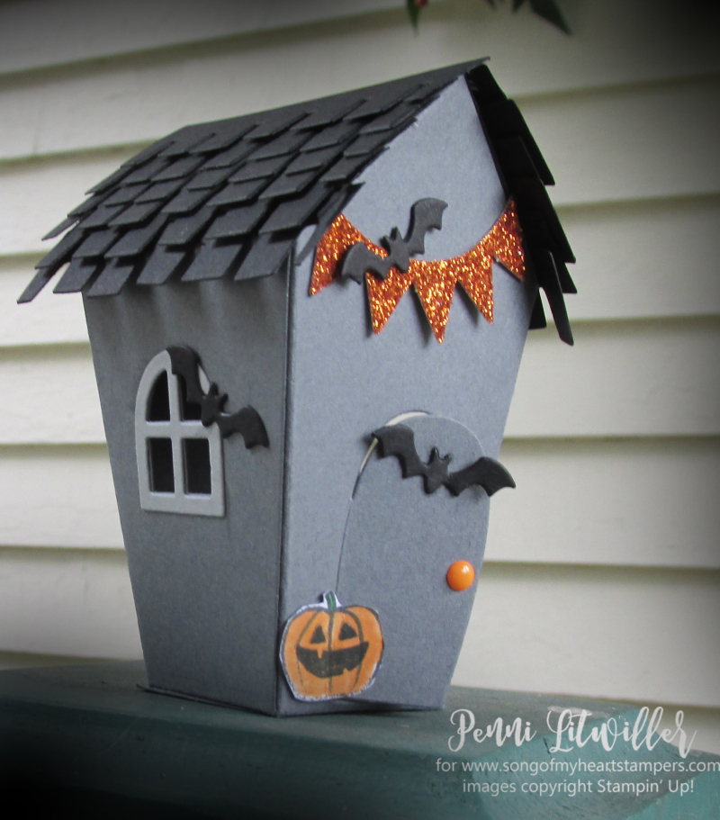Halloween Sweet Treat Houses Gingerbread Christmas Stampin Up