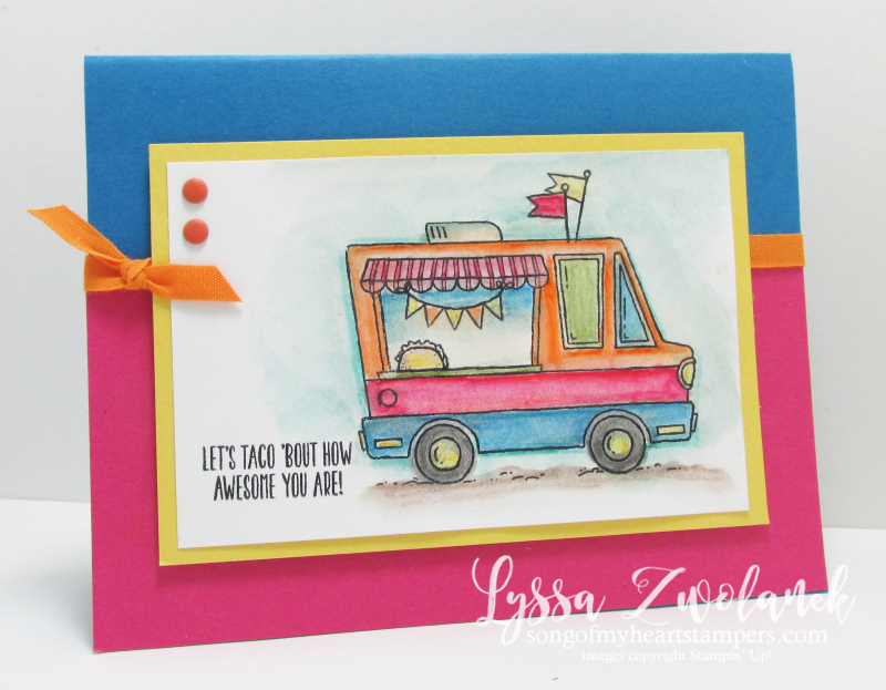 Taco truck ice cream Sale_A_Bration 2017 Stampin Up SAB