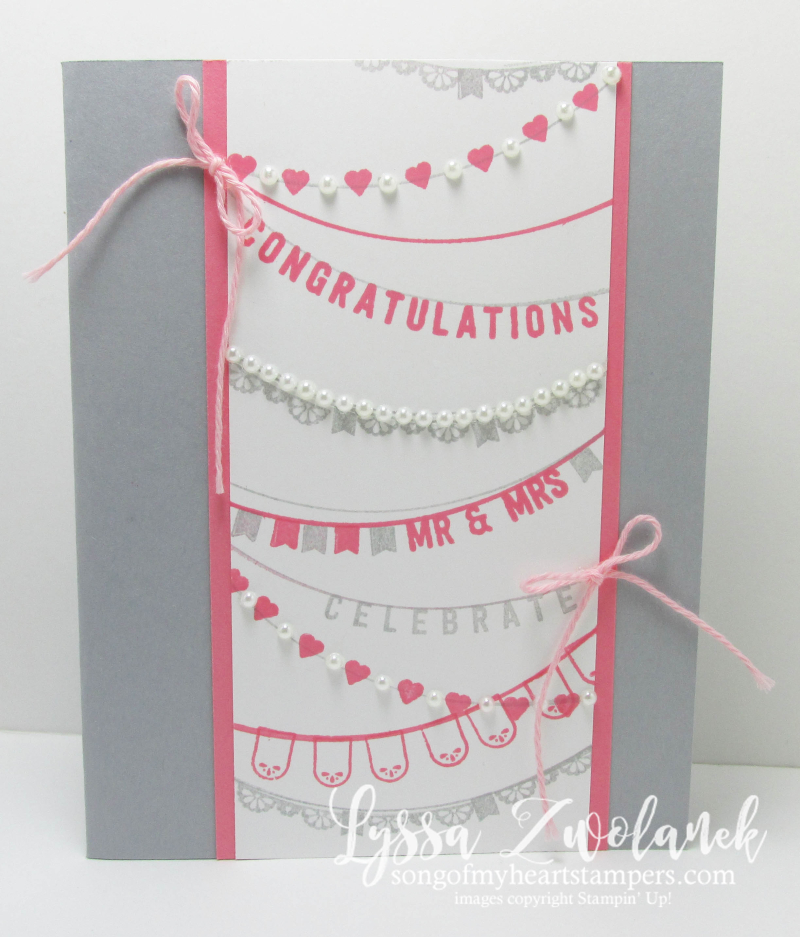 Stampin Up any occasion SAB Sale_A_Bration card wedding shower  rubber stamps