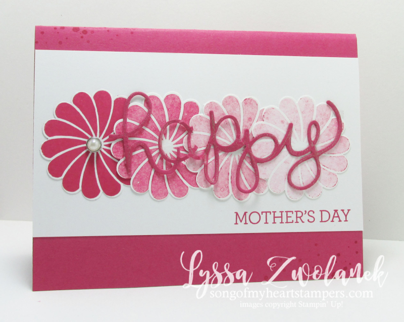 Ombre mothers day card stampin up songofmyheartstampers