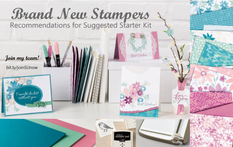 New to Stamping Starter Kit