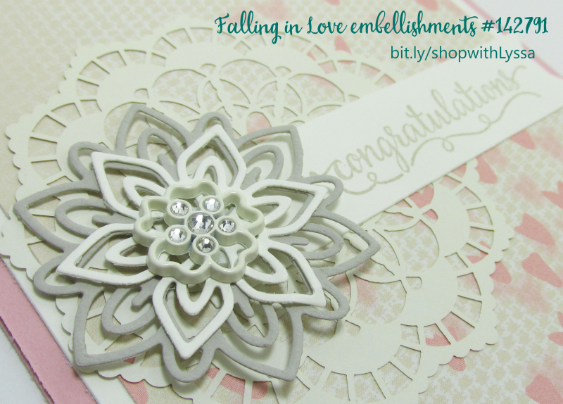 Falling in Love suite Stampin Up Shop with Lyssa rubber stamps cardmaking supplies