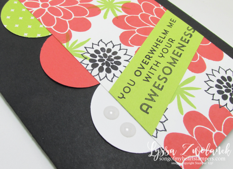 Flower Patch Stampin Up Sizzix Lemon Lime Twist new in color combo rubber stamping