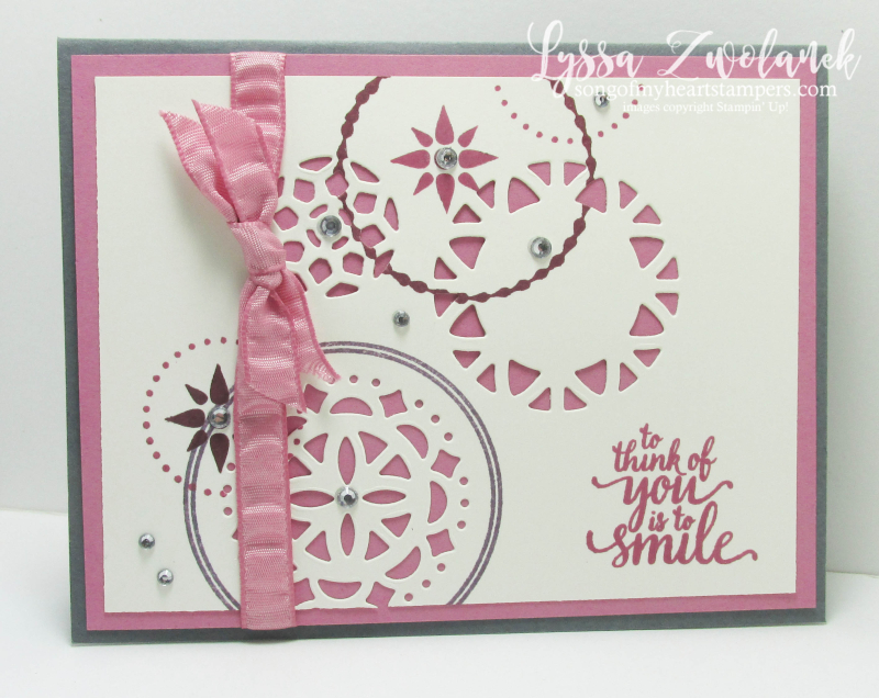 Palace Eastern Suite Stampin Up Lyssa cardmaking DIY rubber sugarplum stamping