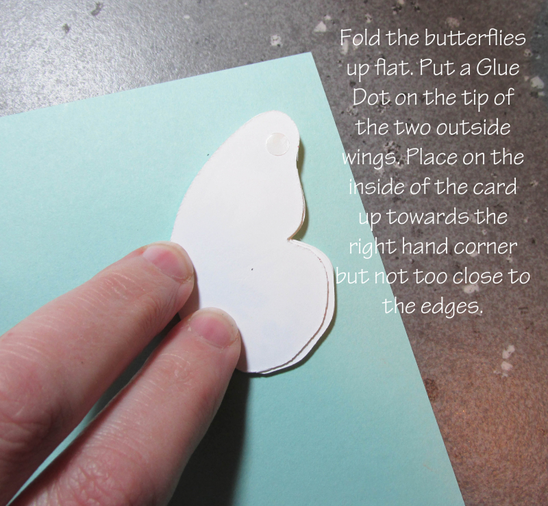 Triple Butterfly Pop Up Card tutorial Lyssa Stampin Up technique bold butterflies rubber stamping card ideas