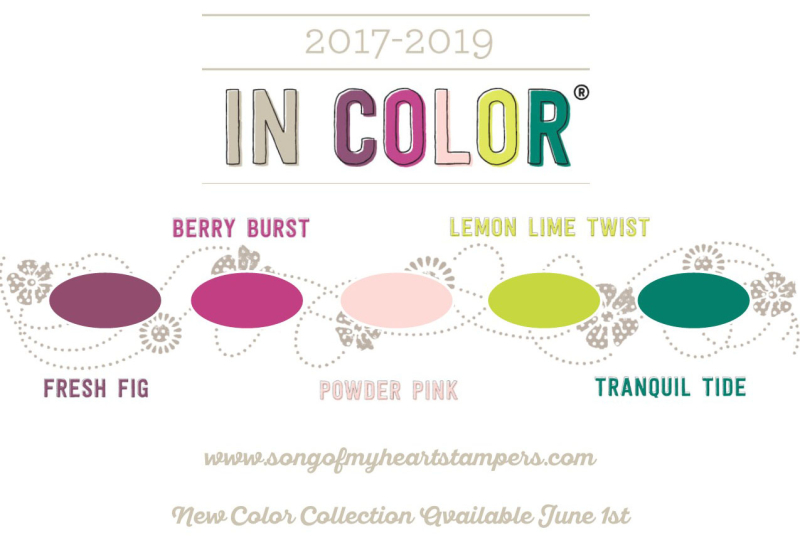 In Color Collection 2017 19 Stampin Up Lyssa