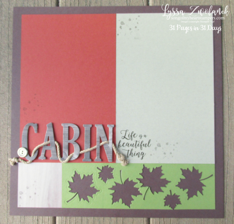 31 pages days scrapbooking summer school cabin themed camp lake nature woods hike layout scrapbook spread