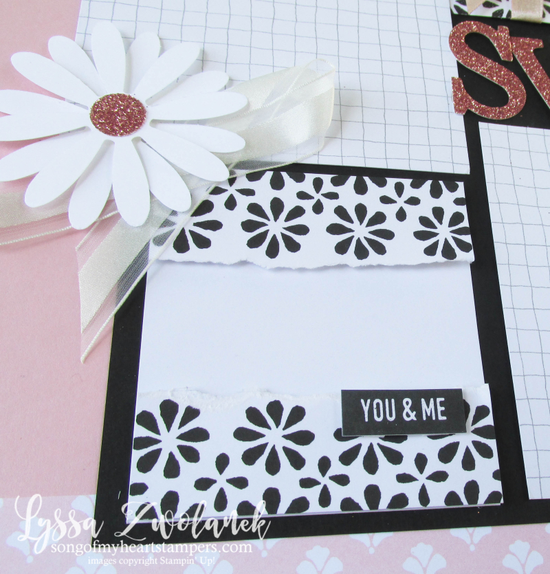 Homework scrapbooking summer school memories more stampin up daisy punch Lyssa 31 pages days