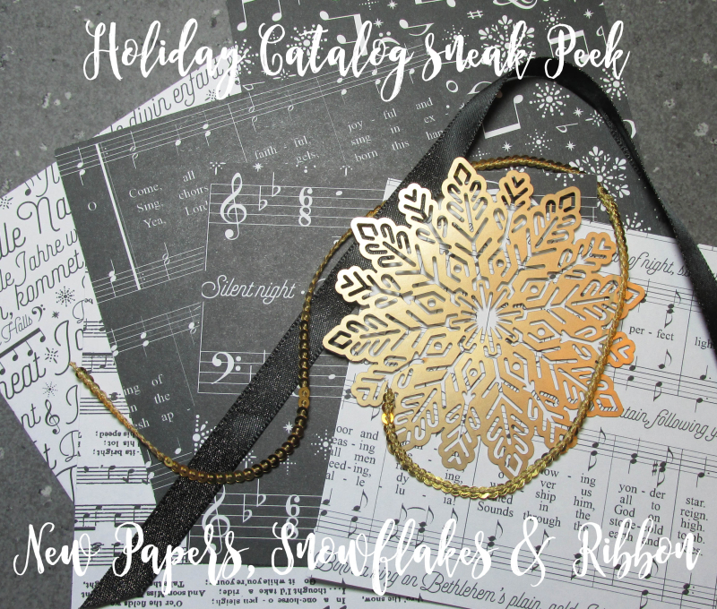 COTM sample for August 2017 Stampin Up Lyssa online club