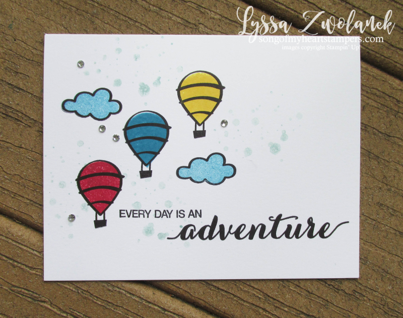 Dare to Dream adventure awaits  is out there hostess exclusive stamp set Stampin Up