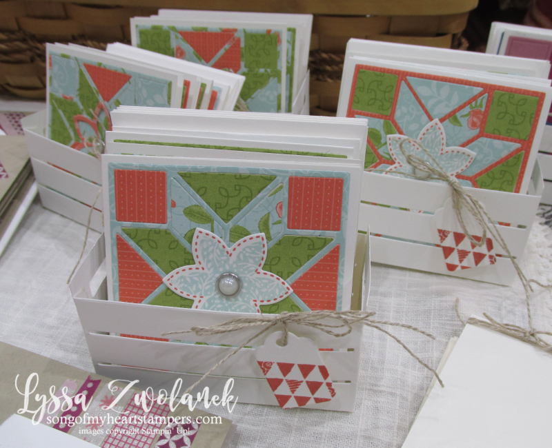 Craft fair display best sellers Stampin Up Lyssa show vendor 6