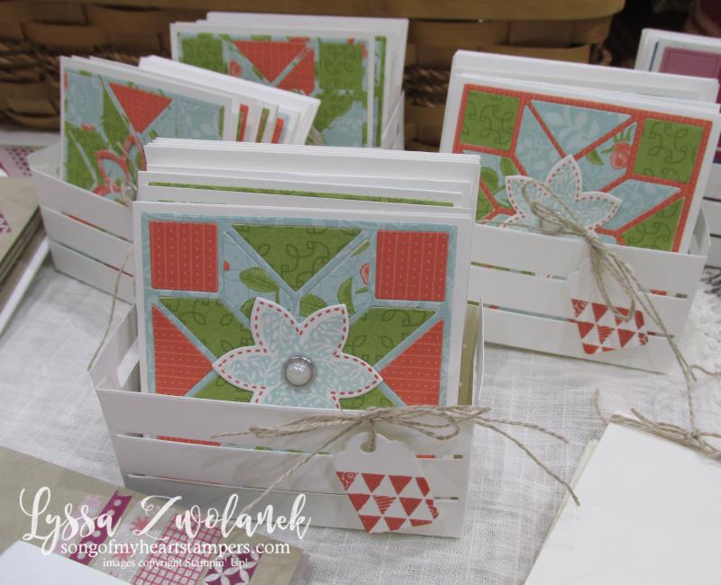 Craft fair display best sellers Stampin Up Lyssa show vendor 6