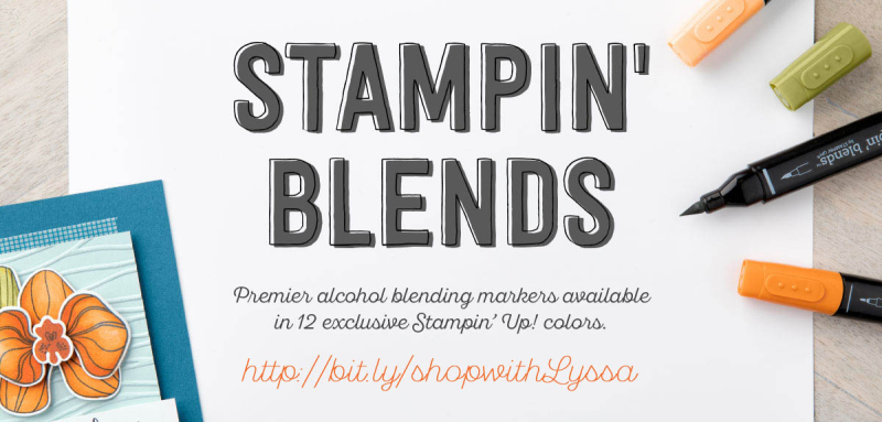 Stampin Blends blog header