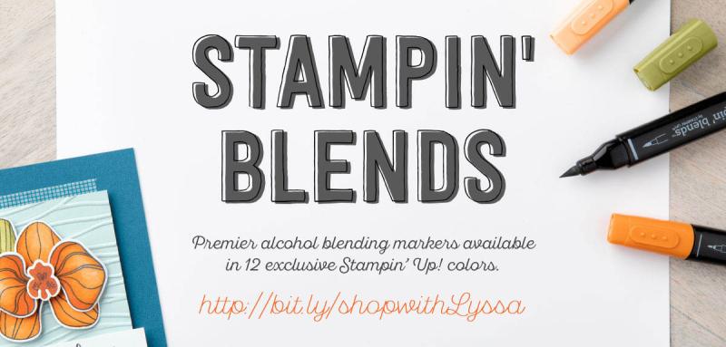 Stampin Blends blog header